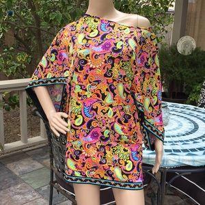 Trina Turk Swimsuit Cover or Mini Dress